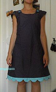 robe aux pétales