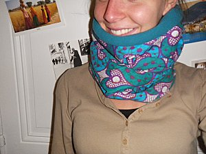 snood turquoise