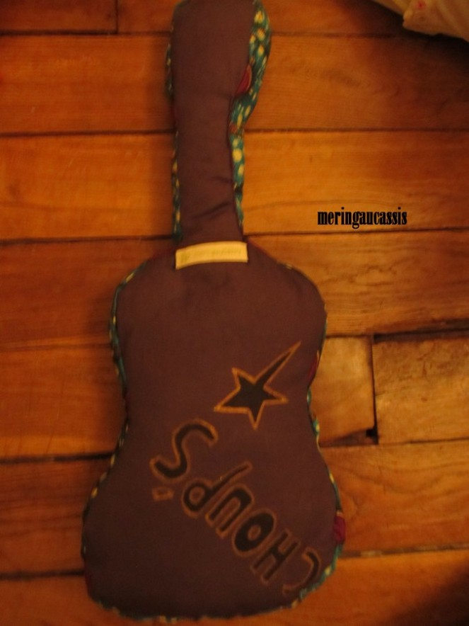 guitare choups dos