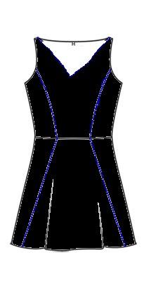 robe modèle